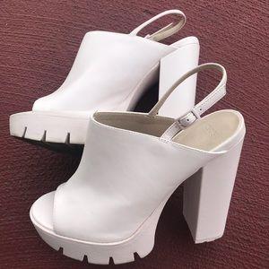 ASOS Pink Open Heels